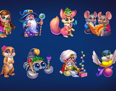 Magic Seasons Game