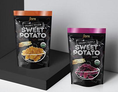 Jan's Food - Organic Sweet Potato Chips