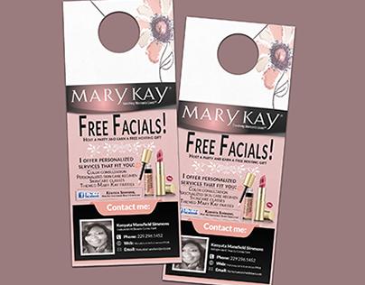 Mary Kay Door Hangers