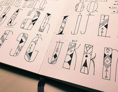 Cat Geo  |  a display typeface