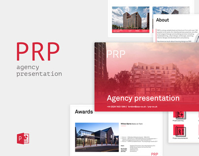 PRP architectural agency — PowerPoint presentation
