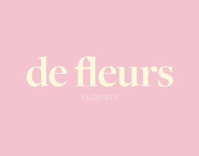 de fleurs