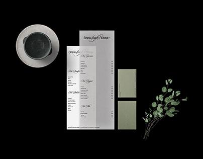 Brew(Café)Shop - Visual Identity