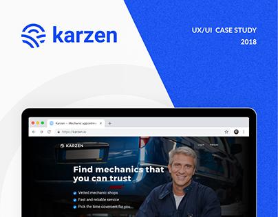 Karzen booking platform
