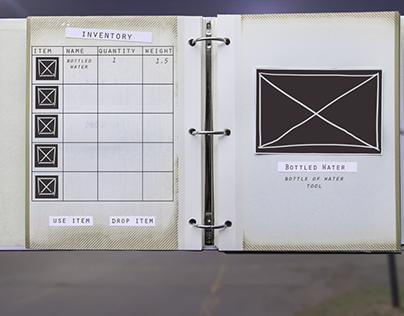 UI/UX: Inventory Screens