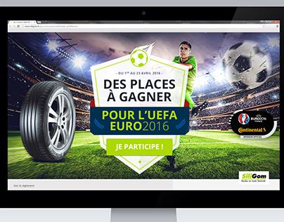 Concours UEFA 2016 : Siligom t'offre tes places !