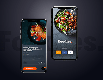 Foodies - Food Delivery - Mobile App