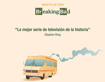 Infografía Breaking Bad