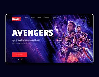 Marvel Studio Daily UI