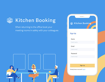 Kitchen booking: a management app for office meetings