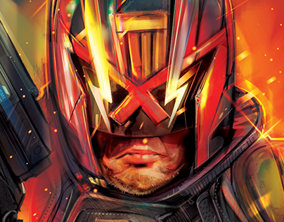 OFFICIAL DREDD STELLCASE- LIONSGATE-VECTOR