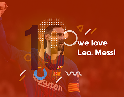 Messi Sport banner Design download free template