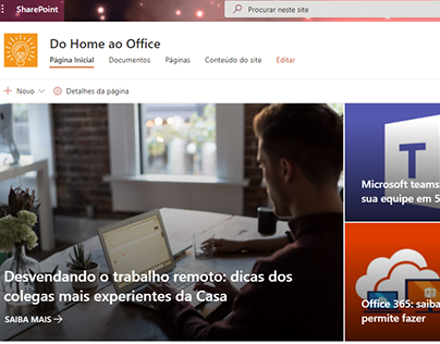Do Home ao Office - UX/UI