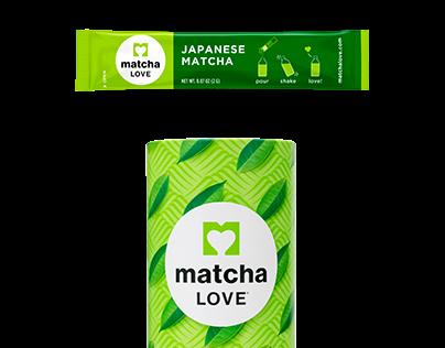 matcha LOVE Single Serve Sticks Packaging