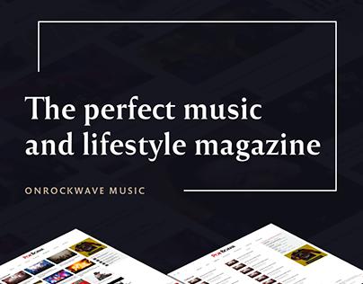 Online Magazine – RockWave