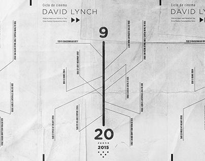 David Lynch - poster timeline
