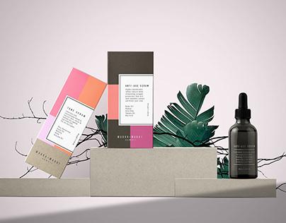 Tropical Cosmetic Packaging