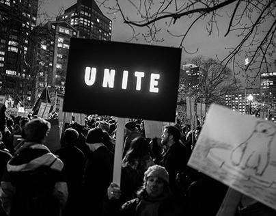 Faces of Occupy Inauguration Boston