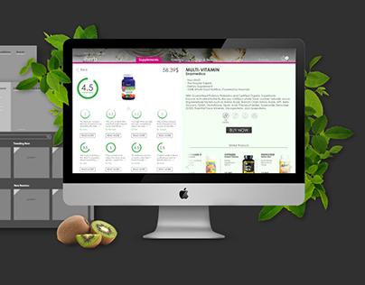Iherb site - redesign