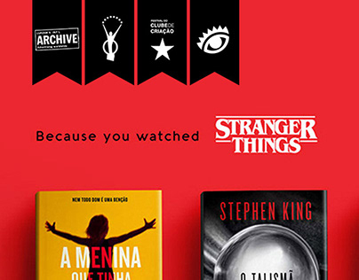 Because You Watched | Livraria Cultura