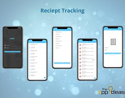 Mobile App Development - Reciept Tracking