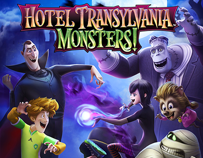Hotel Transylvania: Monsters, UI