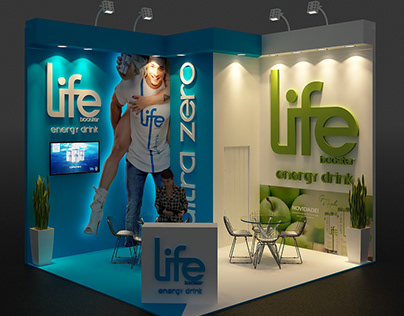 LIFE BOOSTER - EXHIBITION DESIGN
