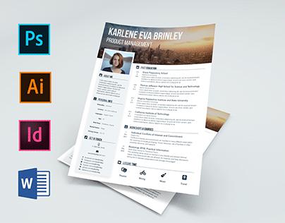 Eva / Resume and CV / Free and Premium Template
