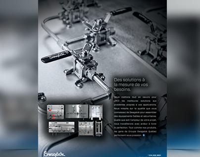 Publicité magasine ingénierie