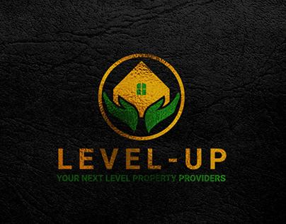 LEVEL-UP PROPERTY PROVIDERS LOGO DESIGN