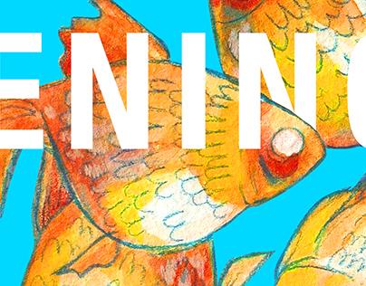 Postcards graphic design