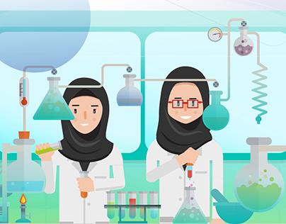 Scientific Research Club TU || Motiongraphic