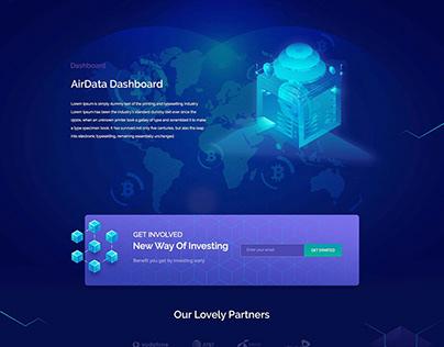 Creative Studio Website/UI PSD Template FREE on Behance