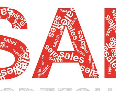 Font Sales Bold