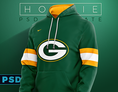 Hoodie/Jumper Apparel Sports Mockup PSD template
