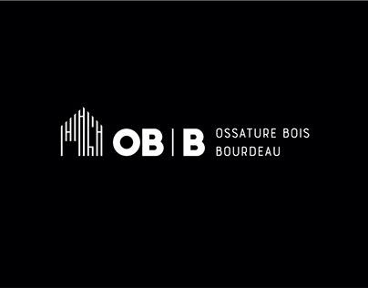 OBB Ossature Bois Bourdeau / Branding