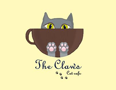 Logo. Cat Cafe