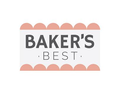 Baker's Best Cakes Branding+Responsive Website