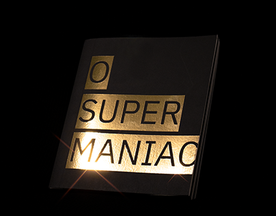 O SUPER MANIAC - Book Design