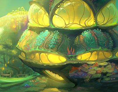 Underwater biotech