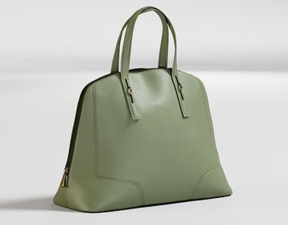 Realistic 3D model of Women's Bag