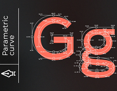 Gogh Geometric Typeface By:Spacetype