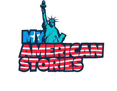 'My American Stories' Logo Design