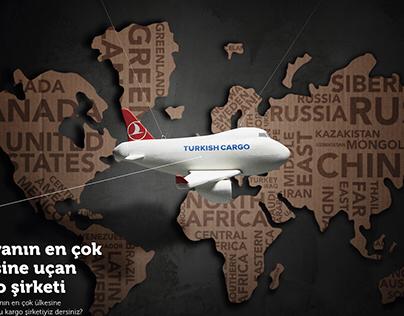 Turkish Cargo Tvc & Print Ads
