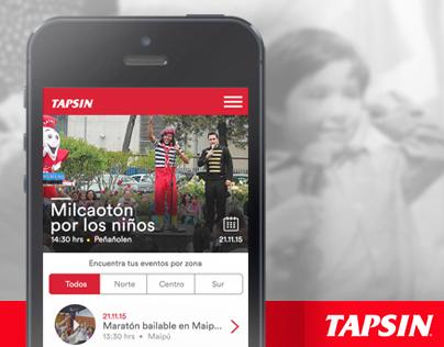 TAPSIN | Mobile campaña Teletón