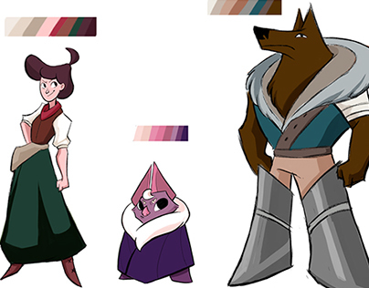 Design for TV Animation