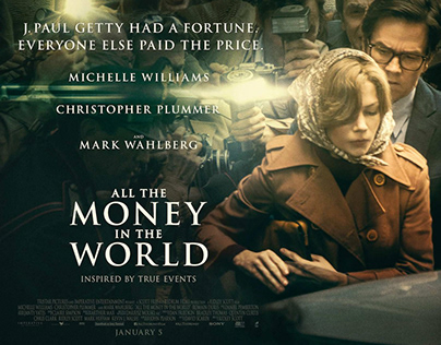 ALL THE MONEY IN THE WORLD - PROPS GRAPHIC