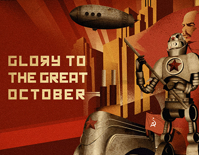 Glory to the Great October