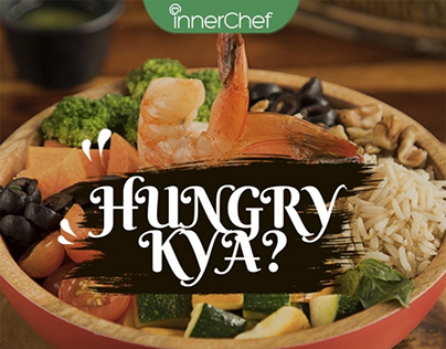 Hungry Kya promotion for innerchef