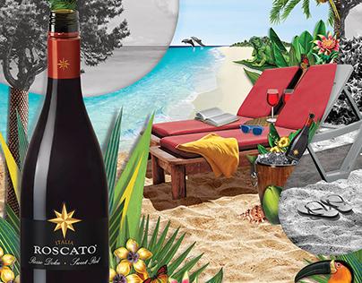 Roscato Wine Campaign